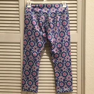 lululemon athletica Pants - Lululemon Floral Yoga pants